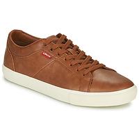 Παπούτσια Άνδρας Χαμηλά Sneakers Levi's WOODWARD Brown