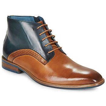 Παπούτσια Άνδρας Μπότες Kdopa HARRIS Cognac / Μπλέ