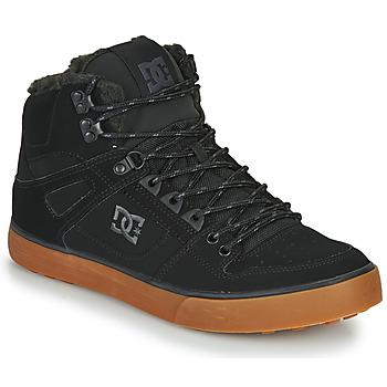 Ψηλά Sneakers DC Shoes PURE HT WC WNT M ΣΤΕΛΕΧΟΣ: Δέρμα & ΕΠΕΝΔΥΣΗ: Ύφασμα & ΕΣ. ΣΟΛΑ: & ΕΞ. ΣΟΛΑ: Καουτσούκ