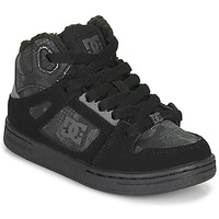 Παπούτσια Παιδί Ψηλά Sneakers DC Shoes PURE HIGH-TOP Black / Grey