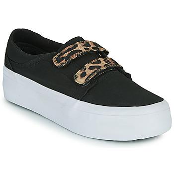 Παπούτσια Γυναίκα Ψηλά Sneakers DC Shoes TRASE PLATEFORM V Black / Leopard
