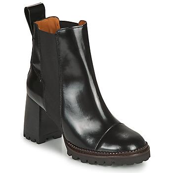 Παπούτσια Γυναίκα Μποτίνια See by Chloé TRINIDAD Black