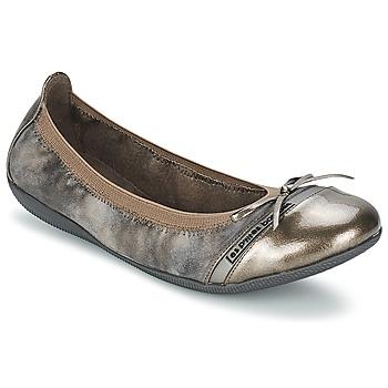Παπούτσια Γυναίκα Μπαλαρίνες Les P'tites Bombes CAPRICE METAL Grey