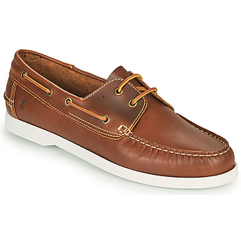 Παπούτσια Άνδρας Boat shoes Casual Attitude REVORO Brown