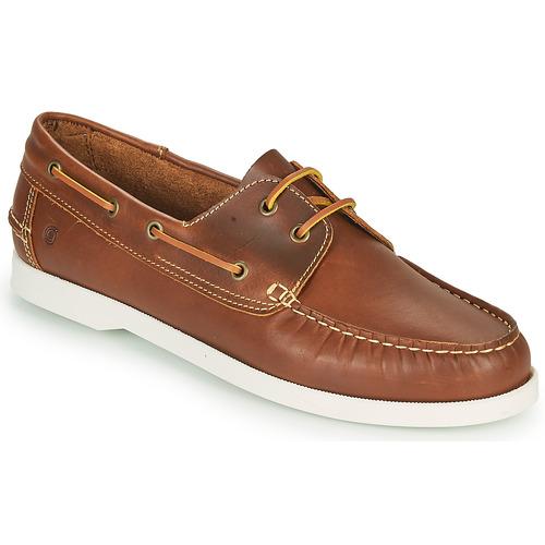 Παπούτσια Άνδρας Boat shoes Casual Attitude REVORO Brown