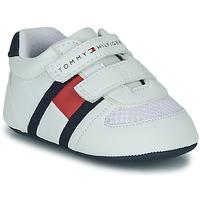 Παπούτσια Παιδί Χαμηλά Sneakers Tommy Hilfiger T0B4-30191 Άσπρο