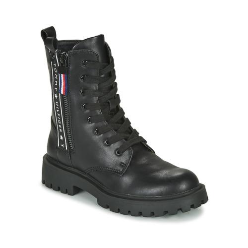 Παπούτσια Παιδί Μπότες Tommy Hilfiger T3A5-30851 Black