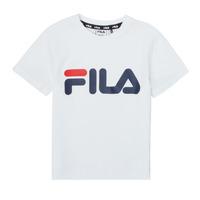 Υφασμάτινα Παιδί T-shirt με κοντά μανίκια Fila LEA Άσπρο