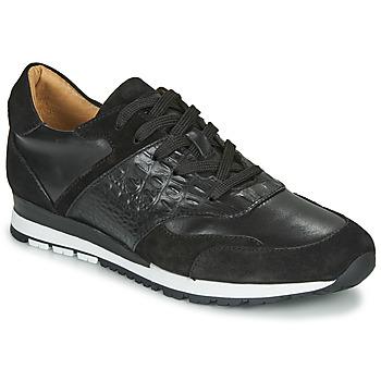Παπούτσια Άνδρας Χαμηλά Sneakers Brett & Sons SUZI Black