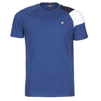 Υφασμάτινα Άνδρας T-shirt με κοντά μανίκια Le Coq Sportif ESS TEE SS N°10 M Μπλέ