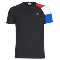 Υφασμάτινα Άνδρας T-shirt με κοντά μανίκια Le Coq Sportif ESS TEE SS N°10 M Black