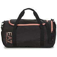 Τσάντες Γυναίκα Αθλητικές τσάντες Emporio Armani EA7 TRAIN CORE U GYM BAG SMALL Black / Ροζ