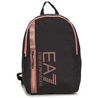 Τσάντες Γυναίκα Σακίδια πλάτης Emporio Armani EA7 TRAIN CORE U BACKPACK B Black / Ροζ