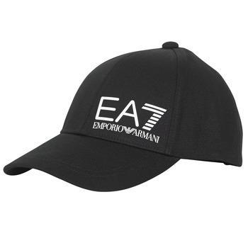 Αξεσουάρ Άνδρας Κασκέτα Emporio Armani EA7 TRAIN CORE ID M LOGO CAP Black