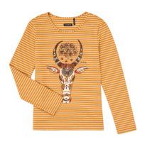 Υφασμάτινα Κορίτσι Μπλουζάκια με μακριά μανίκια Ikks XR10102 Brown