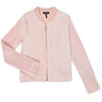 Υφασμάτινα Κορίτσι Μπουφάν / Ζακέτες Ikks XR17022 Ροζ
