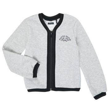 Υφασμάτινα Κορίτσι Μπουφάν / Ζακέτες Ikks XR17062 Grey