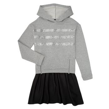 Υφασμάτινα Κορίτσι Κοντά Φορέματα Ikks XR30112 Grey