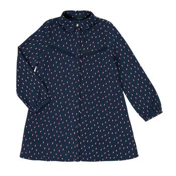 Υφασμάτινα Κορίτσι Κοντά Φορέματα Ikks XR30152 Μπλέ