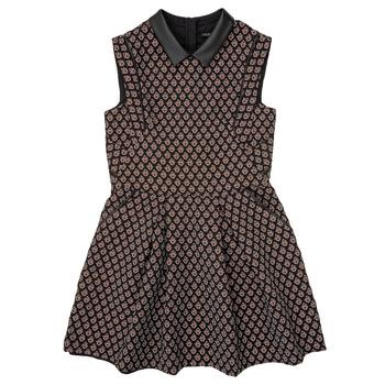 Υφασμάτινα Κορίτσι Κοντά Φορέματα Ikks XR30212 Black