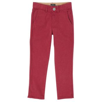 Υφασμάτινα Αγόρι Παντελόνια Πεντάτσεπα Ikks XR22093J Red