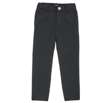 Υφασμάτινα Αγόρι Παντελόνια Πεντάτσεπα Ikks XR23023 Black