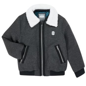 Υφασμάτινα Αγόρι Μπουφάν Ikks XR40083 Grey