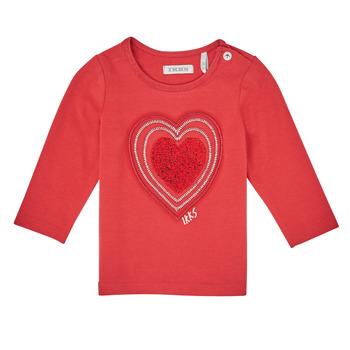 Υφασμάτινα Κορίτσι Μπλουζάκια με μακριά μανίκια Ikks XR10010 Orange