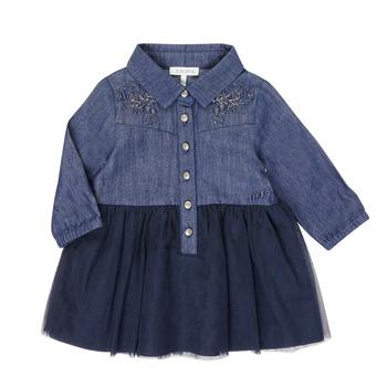 Υφασμάτινα Κορίτσι Κοντά Φορέματα Ikks XR30150 Μπλέ