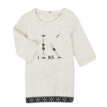 Υφασμάτινα Κορίτσι Κοντά Φορέματα Ikks XR30180 Beige