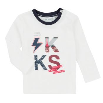Υφασμάτινα Αγόρι Σετ Ikks XR36001 Άσπρο