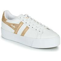 Παπούτσια Γυναίκα Χαμηλά Sneakers Gola ORCHID PLATEFORM Άσπρο / Gold
