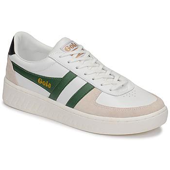 Παπούτσια Άνδρας Χαμηλά Sneakers Gola GRANDSLAM CLASSIC Άσπρο / Green