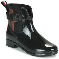 Παπούτσια Γυναίκα Μπότες βροχής Tom Tailor 92306-NOIR Black