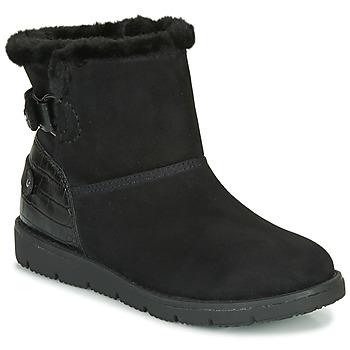Μπότες Tom Tailor 93105-NOIR ΣΤΕΛΕΧΟΣ: Ύφασμα & ΕΠΕΝΔΥΣΗ: Ύφασμα & ΕΣ. ΣΟΛΑ: Ύφασμα & ΕΞ. ΣΟΛΑ: Συνθετικό