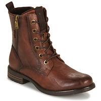 Παπούτσια Γυναίκα Μπότες Tom Tailor 93303-COGNAC Cognac
