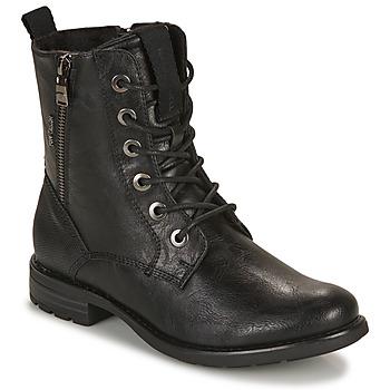 Παπούτσια Γυναίκα Μπότες Tom Tailor 93303-NOIR Black