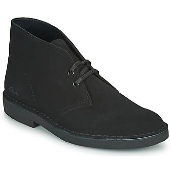 Παπούτσια Άνδρας Μπότες Clarks DESERT BOOT 2 Black