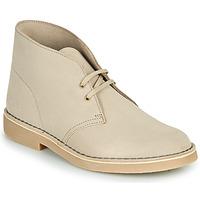 Παπούτσια Άνδρας Μπότες Clarks DESERT BOOT 2 Sable
