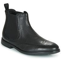 Παπούτσια Άνδρας Μπότες Clarks RONNIE TOP Black