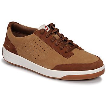 Παπούτσια Άνδρας Χαμηλά Sneakers Clarks HERO AIR LACE Camel