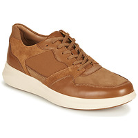 Παπούτσια Άνδρας Χαμηλά Sneakers Clarks UN GLOBE RUN Camel