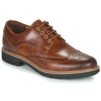 Παπούτσια Άνδρας Derby Clarks BATCOMBE WING Camel