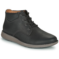 Παπούτσια Άνδρας Derby Clarks UN LARVIK TOP2 Black