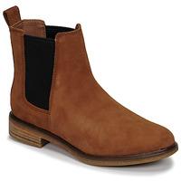 Παπούτσια Γυναίκα Μπότες Clarks CLARKDALE ARLO Camel