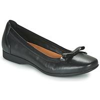 Παπούτσια Γυναίκα Μπαλαρίνες Clarks UN DARCEY BOW Black