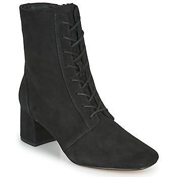 Παπούτσια Γυναίκα Μποτίνια Clarks SHEER55 LACE Black