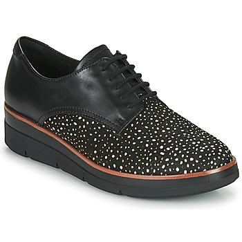 Παπούτσια Γυναίκα Derby Clarks SHAYLIN LACE Black
