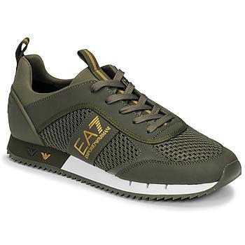 Παπούτσια Άνδρας Χαμηλά Sneakers Emporio Armani EA7  Kaki