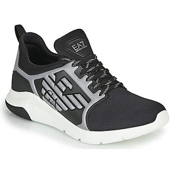 Παπούτσια Άνδρας Χαμηλά Sneakers Emporio Armani EA7 XCC55 Black